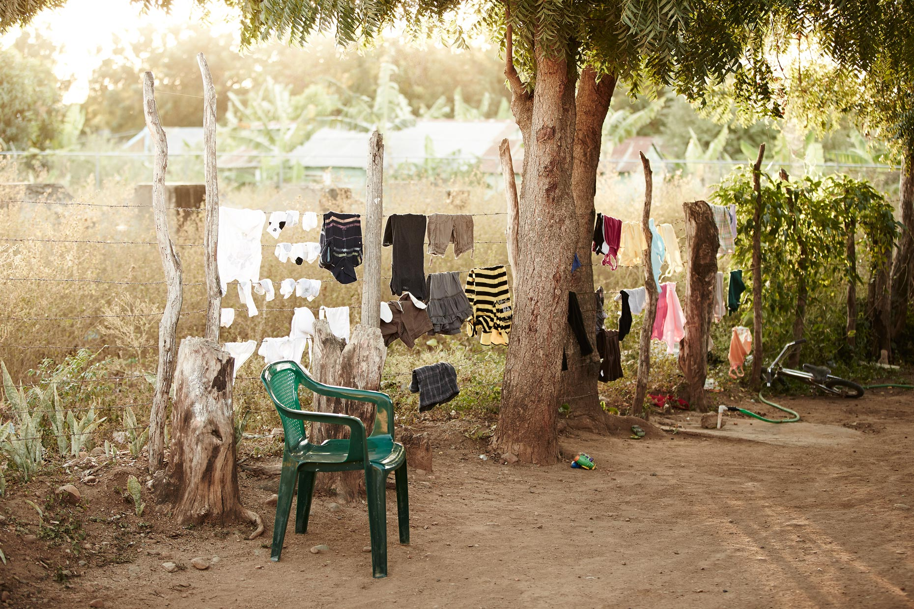 Travel Photography Dominican Republic Derek Israelsen Laundry