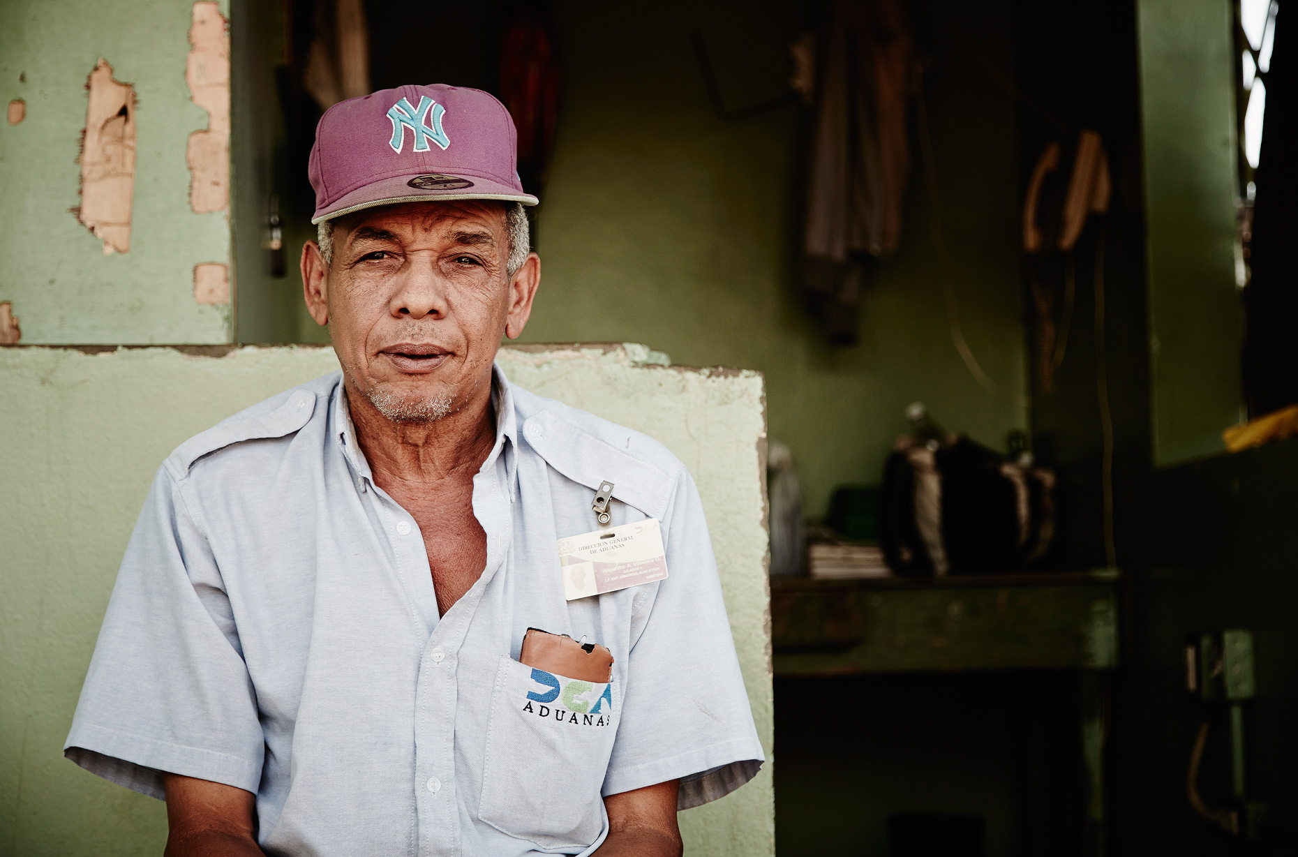 Travel Photography Dominican Republic Derek Israelsen Man with hat