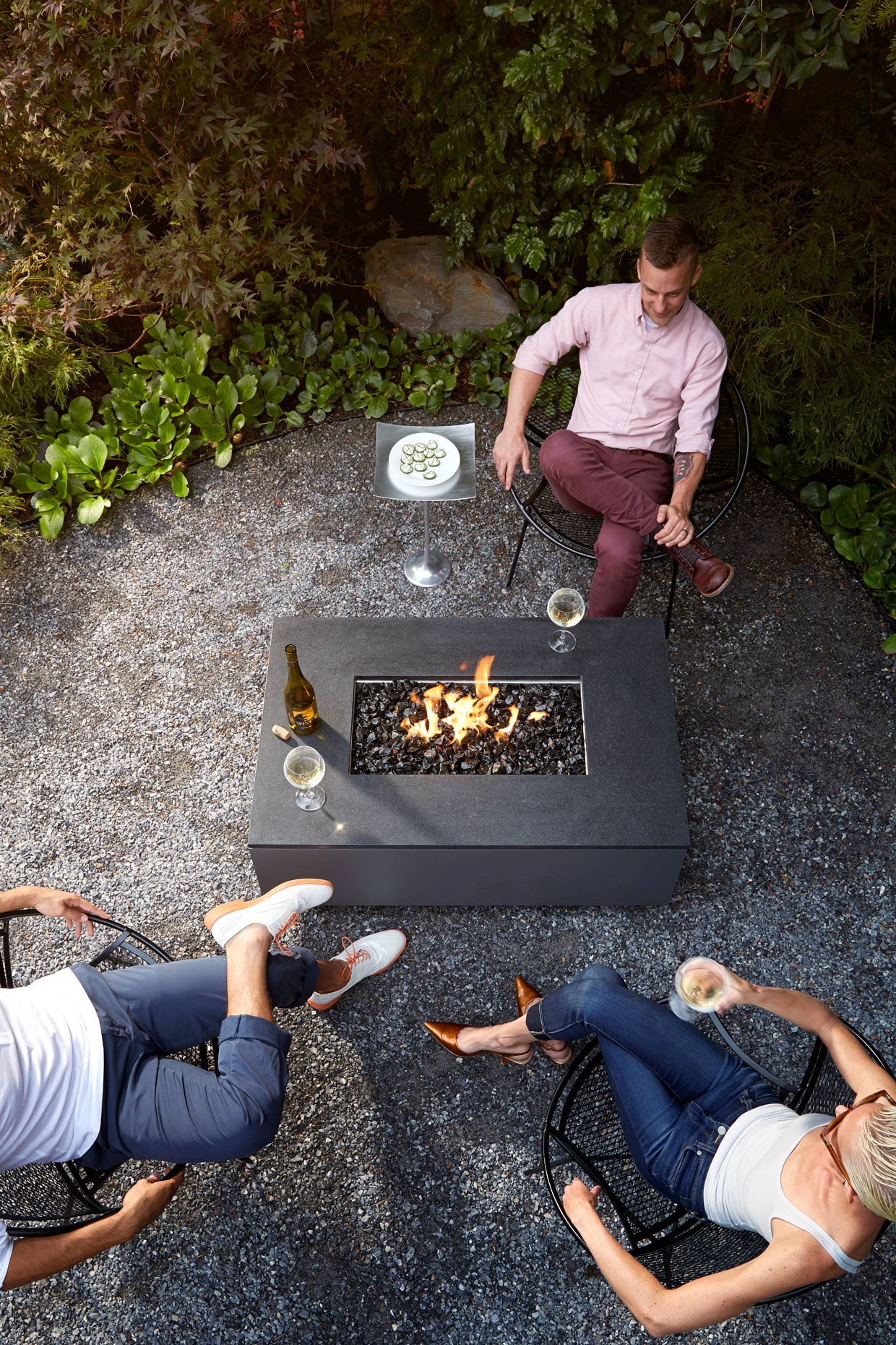 Lifestyle photography Derek Israelsen Firepit Friends