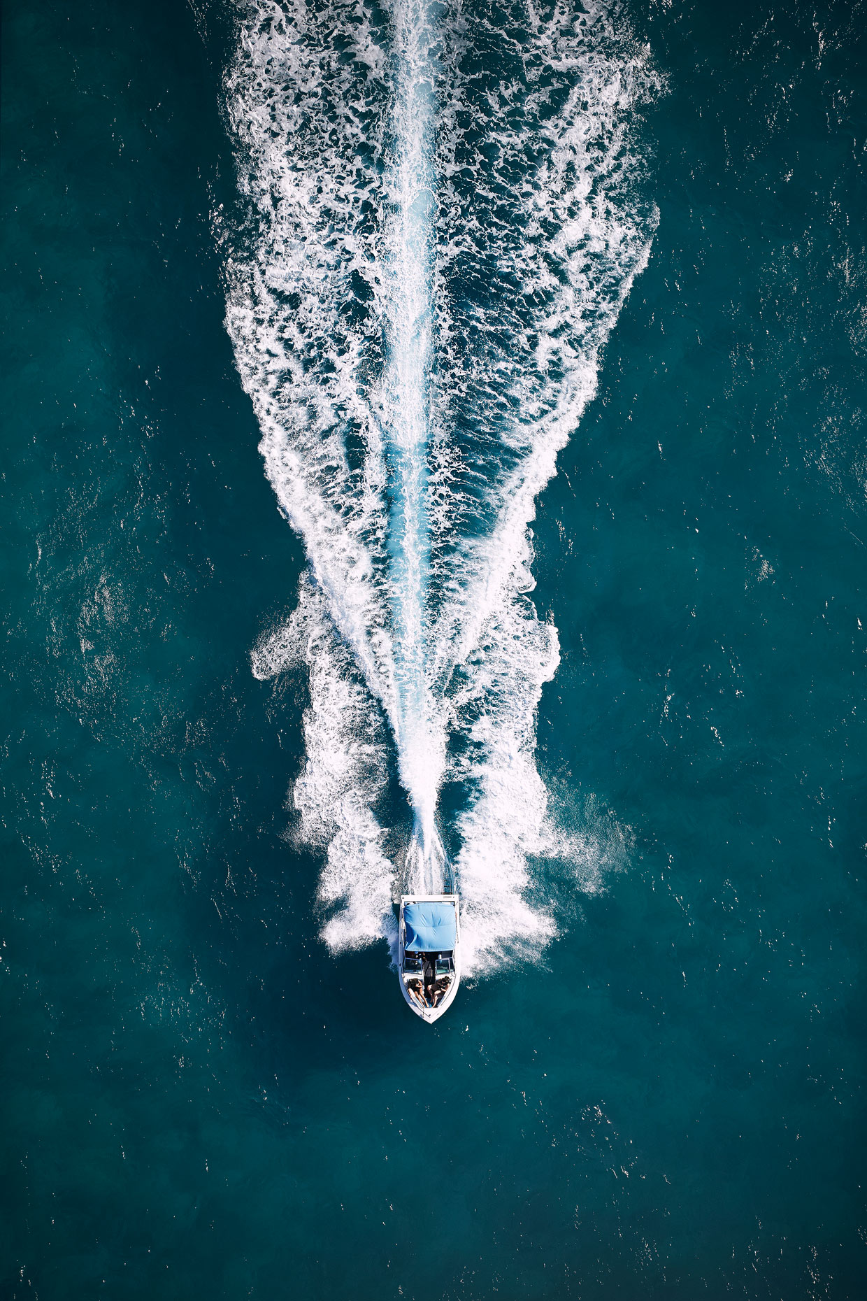 Projects Travel Photography Dominican Republic Derek Israelsen Aerial Speed Boat
