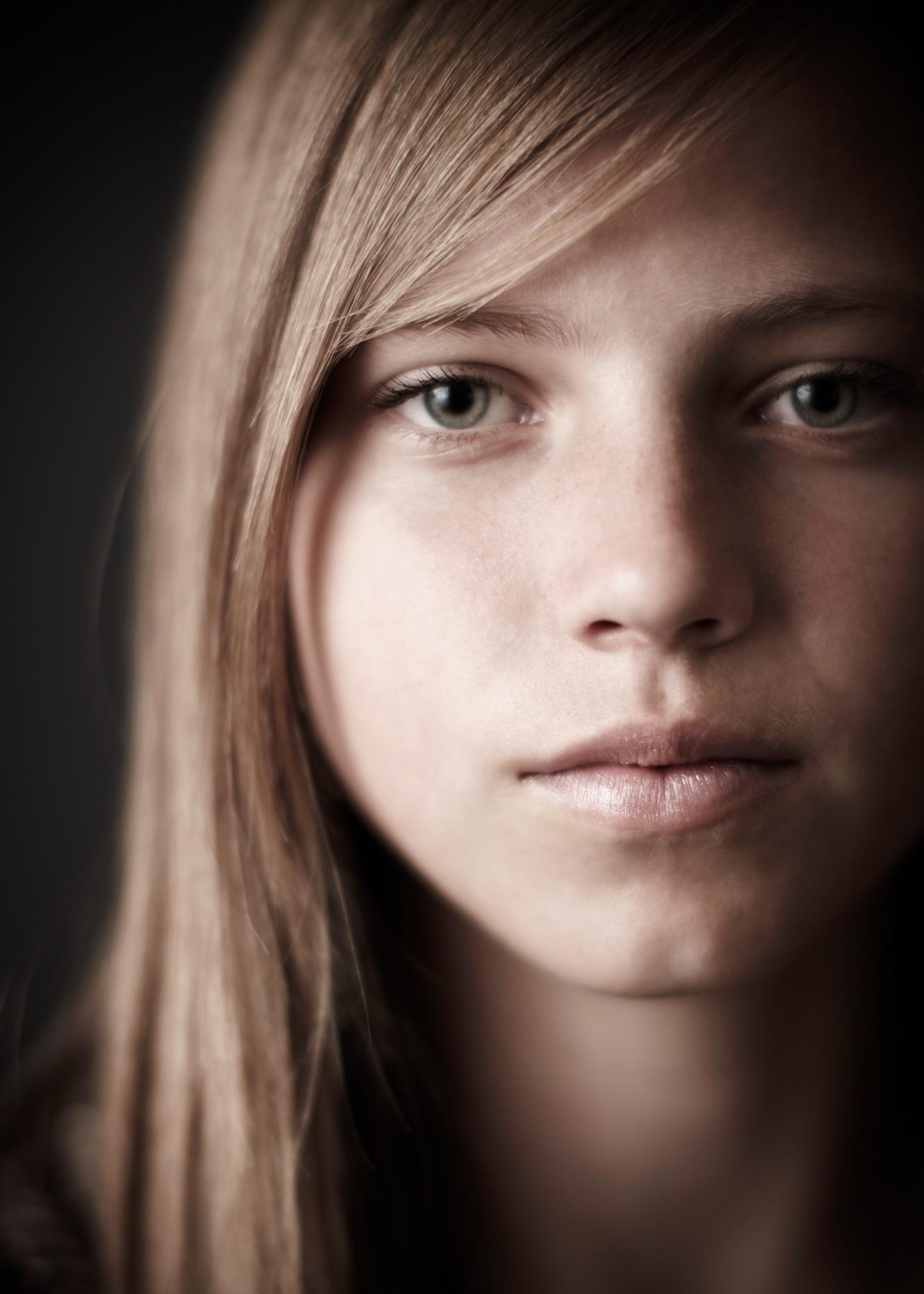 Portrait Photography Derek Israelsen Kid Blue Eyes
