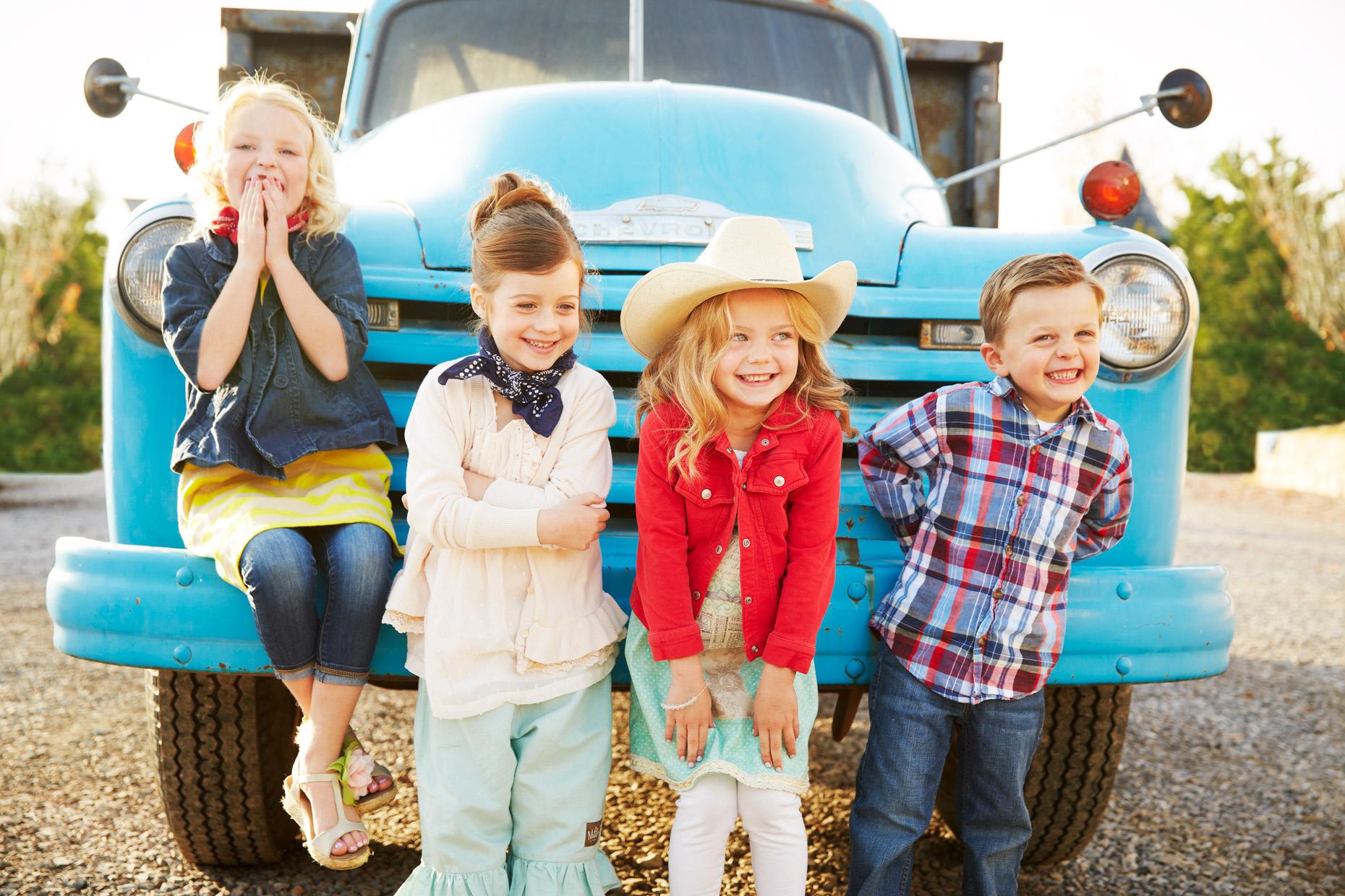 Lifestyle Photography Derek Israelsen Kids Truck
