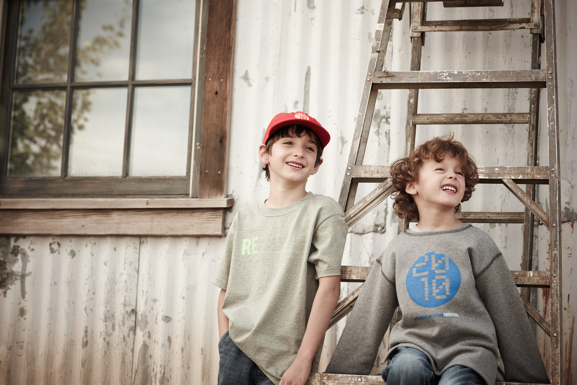 Portrait Photography Derek Israelsen Rustic Kids Advertisment