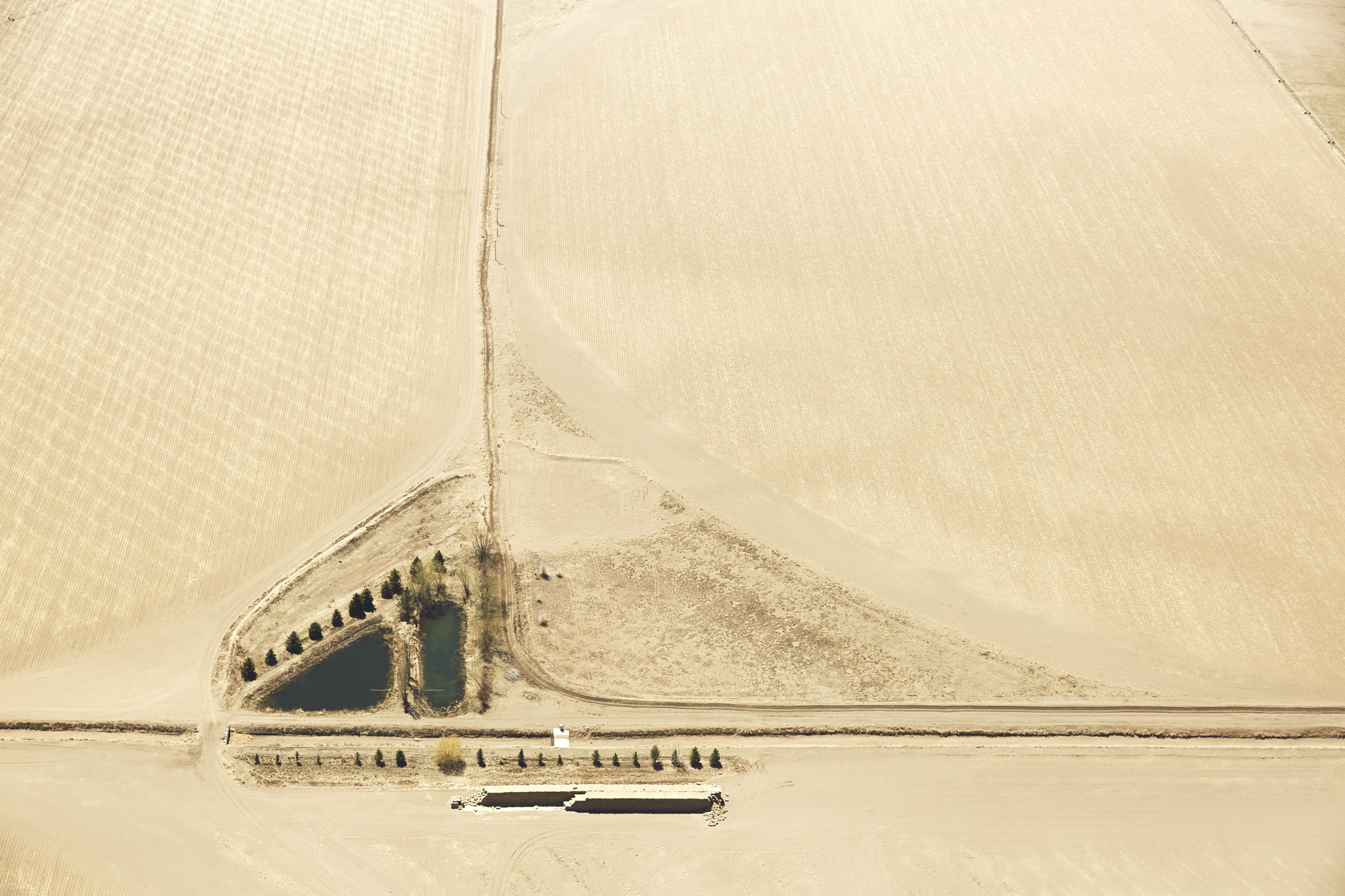 Aerial Photography Farms
