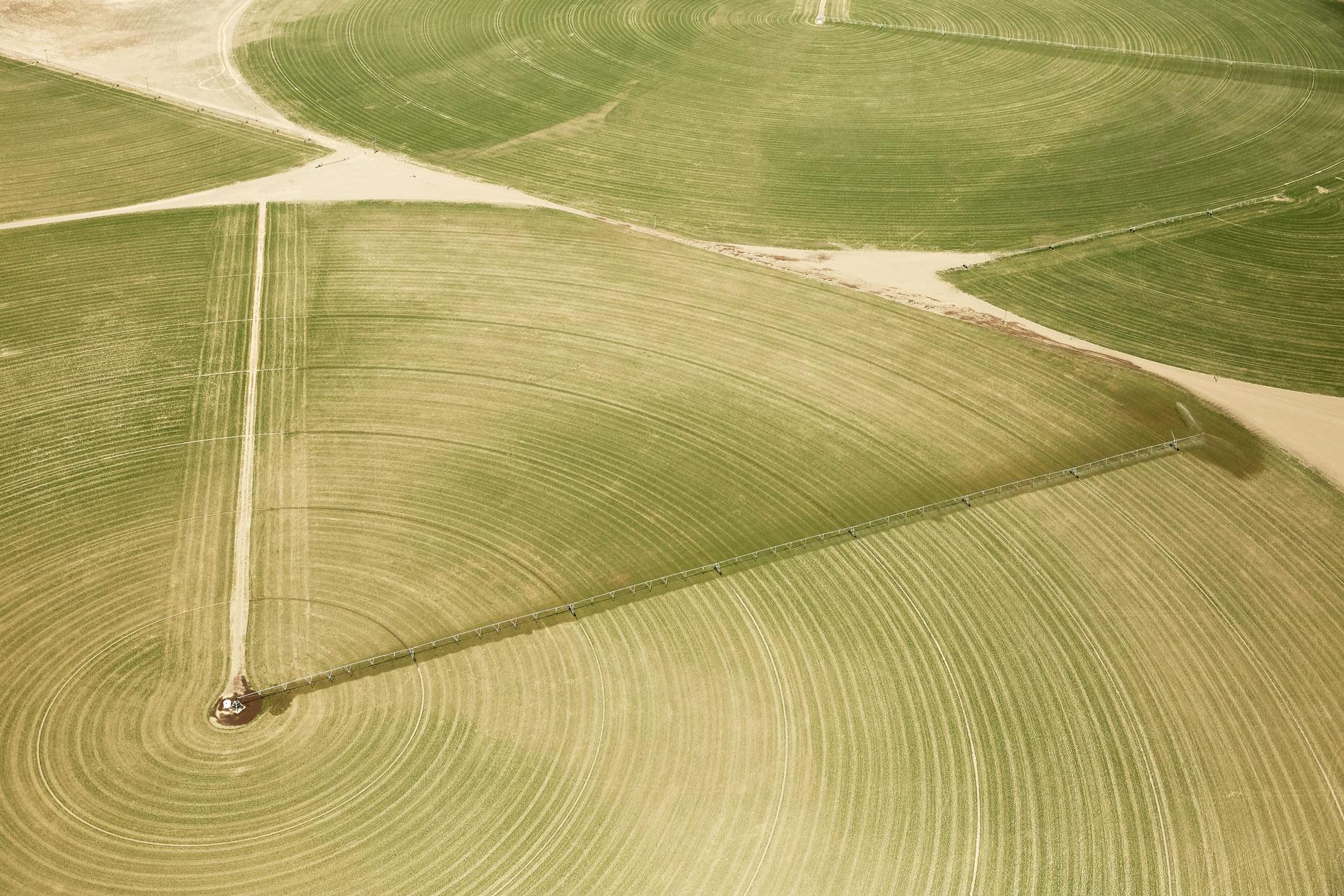 Aerial Photography Derek Israelsen Green Crop Circles