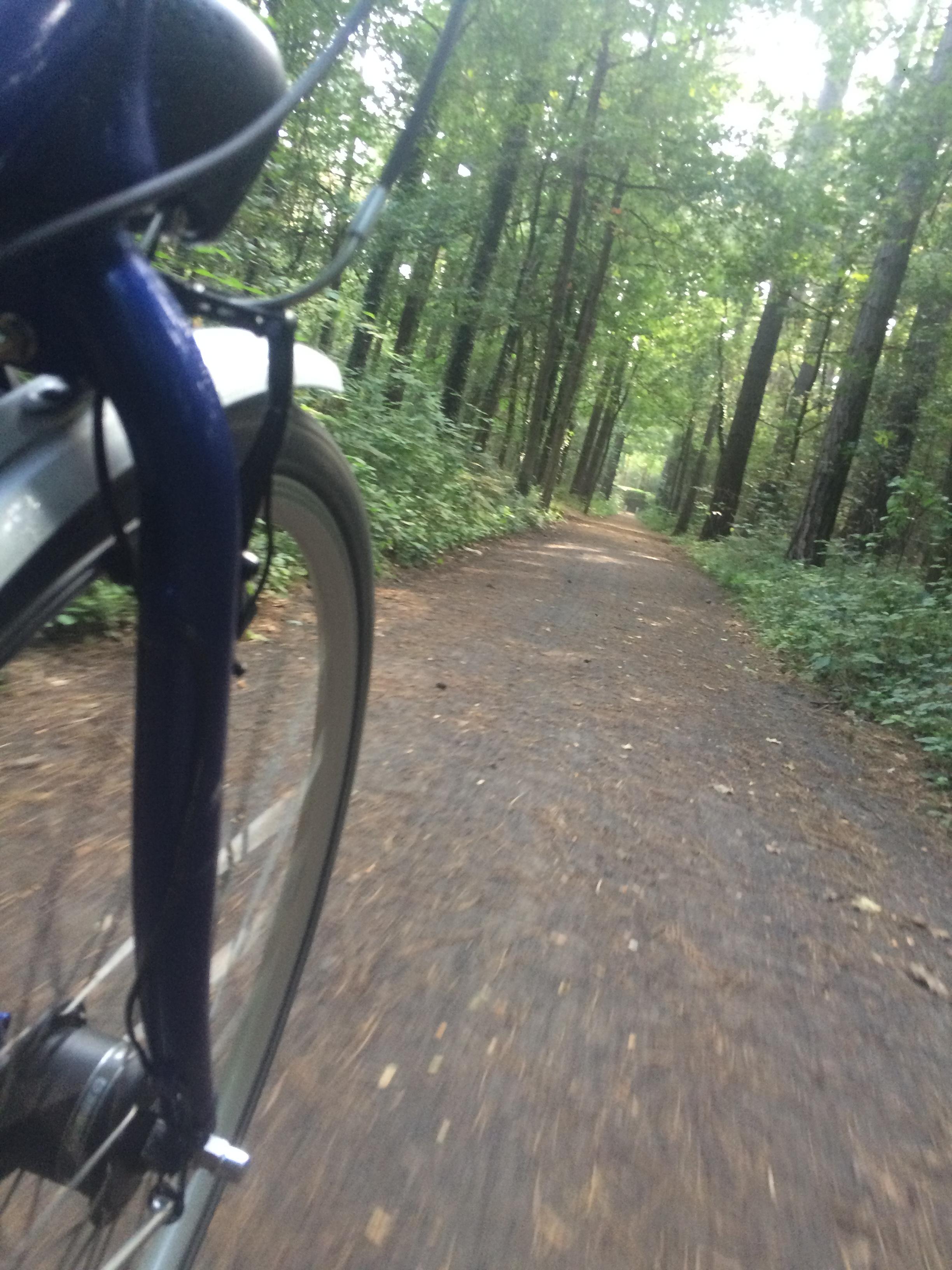 Belgium bike path