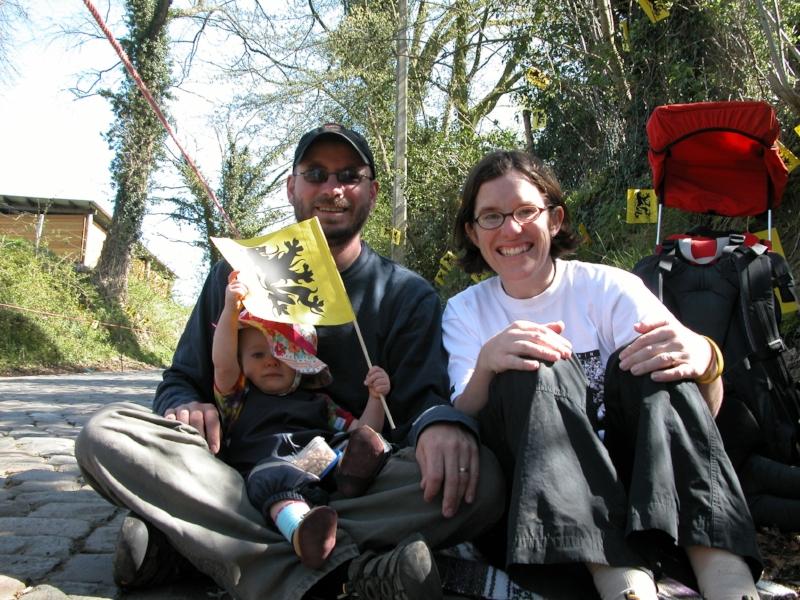 Bob, Katy and Suzy at the 2007 Ronde
