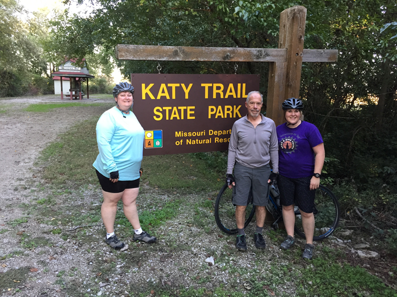 Katy trail Beginning