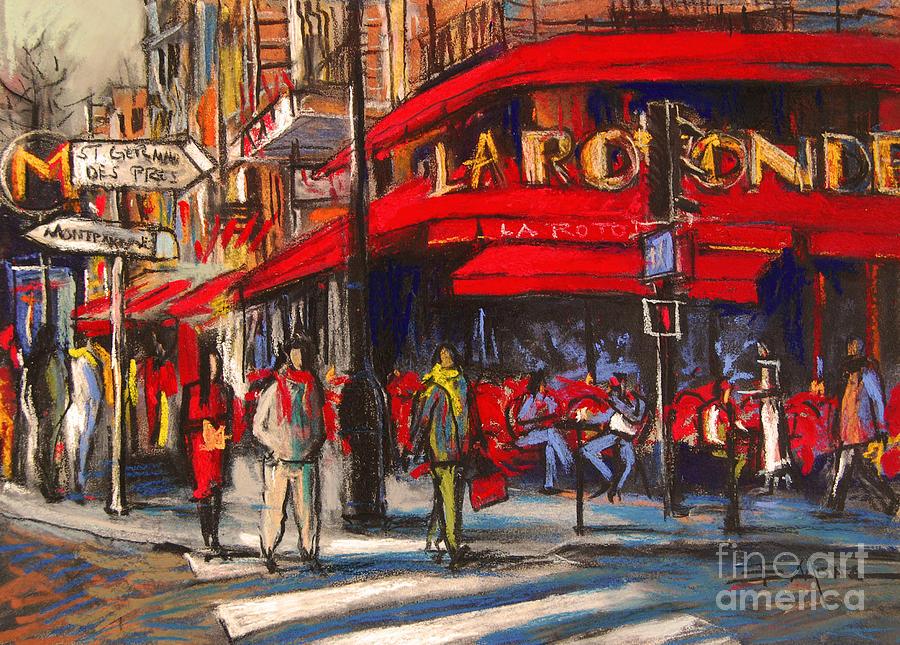 La Rotonde café in the heart of Montparnasse