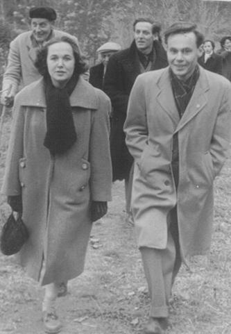 Frank Haviland Marie-Madeleine Delpont Marcel Delpont Lee Kemble 1952