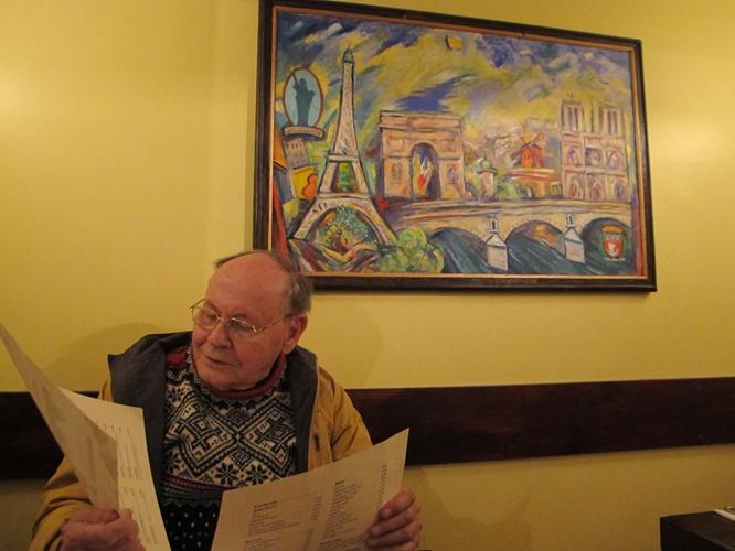 w666 Paris painting with Lee Kemble