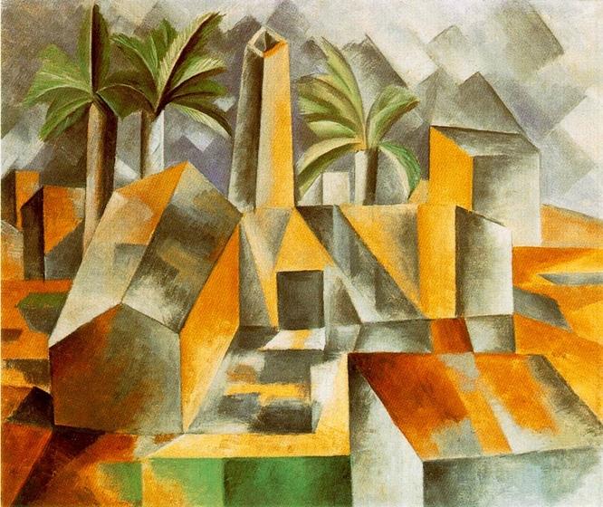 w666 factory-at-horta-de-ebro Picasso 1909
