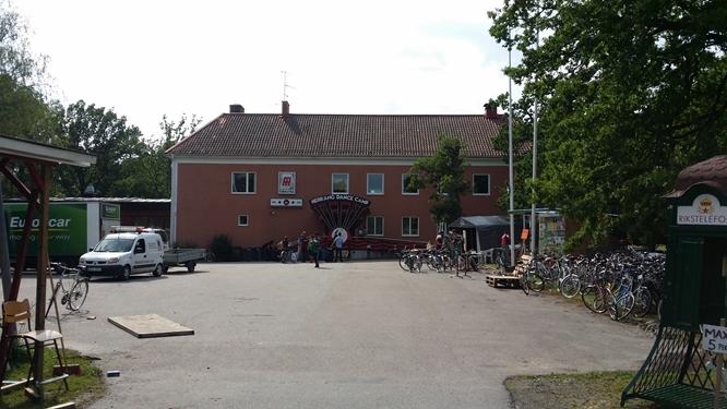 The main stalag at Herräng Dance Camp, photo Peter Wihlner.