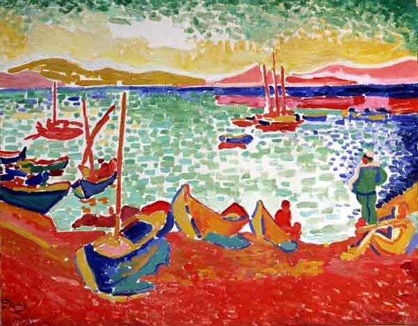 Boats in the Port of Collioure, Henri Matisse, 1905.