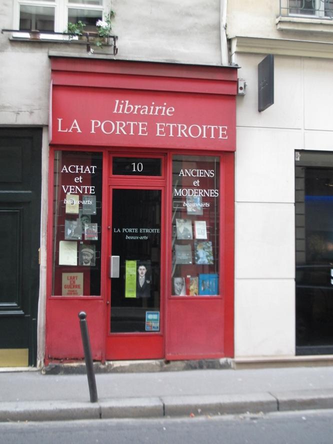 w666 Libraire La Porte Etroite bookstore Paris.jpg