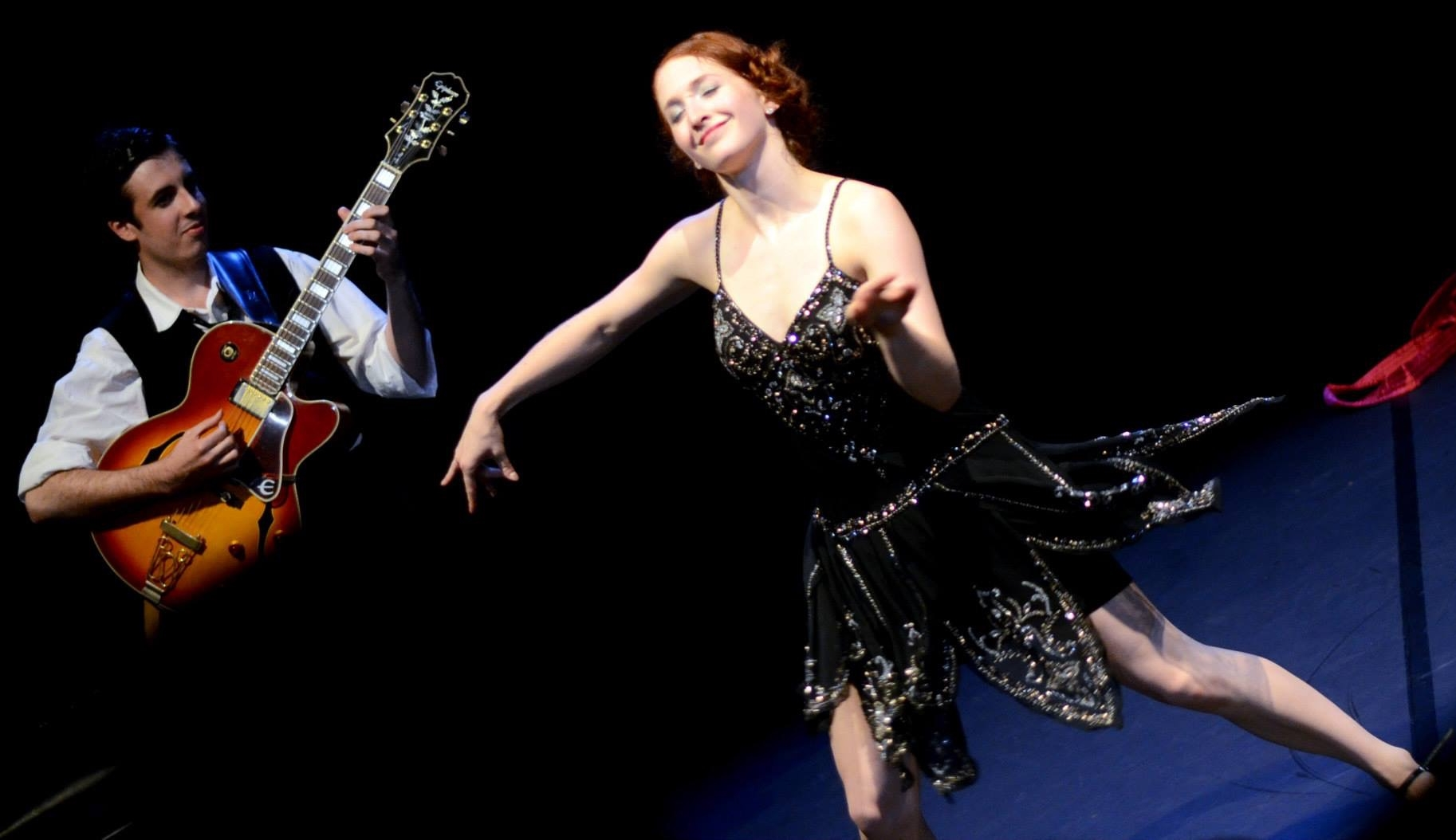 Our Zelda Fitzgerald, Emma Scherer, dancing the Charleston.Photo: Courtesy Emma Scherer.