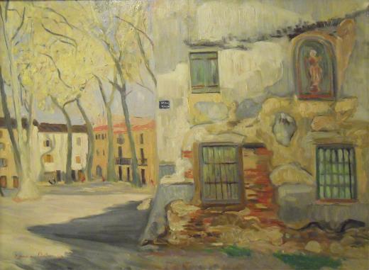 Paysage de Céret , Simone Delaunay.