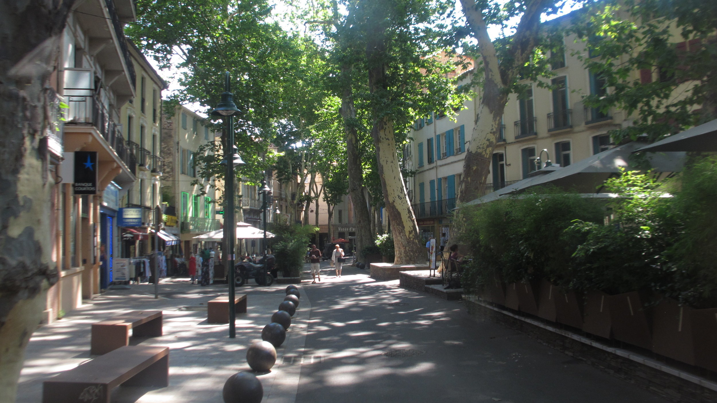 """The town of Céret in the Pyrenees, """"The Mecca of Cubism."""" Photo Travellati Tours.jpg"""