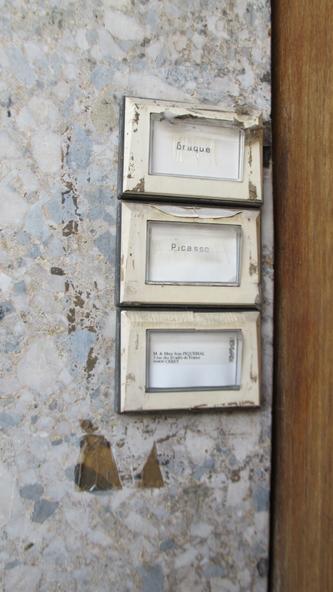 w333 Ceret Picasso Braque names on door.jpg