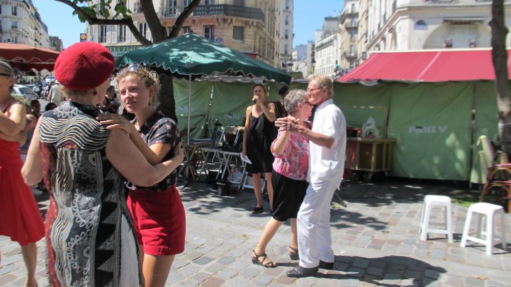 We're dancing with joy!   Photo Travellati Tours.