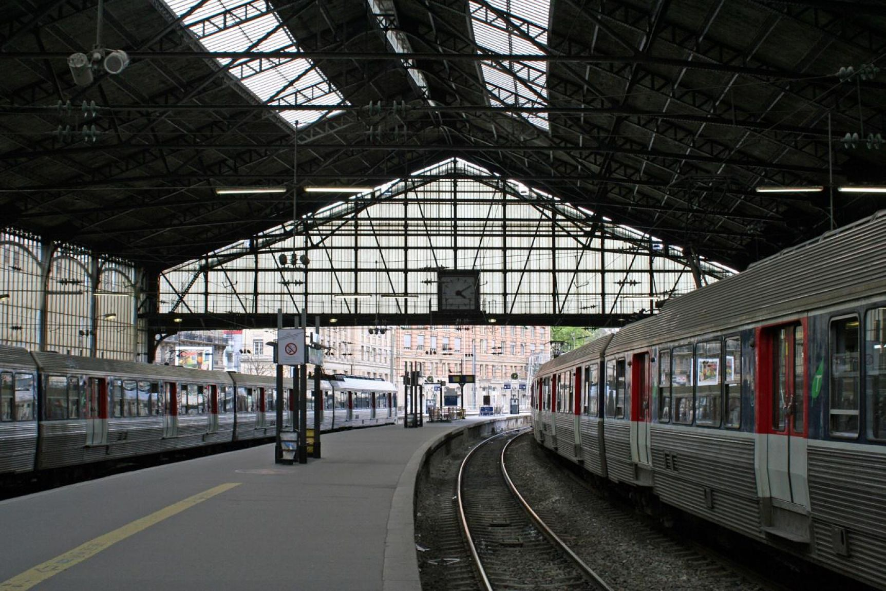 The Gare Saint Lazare today, from which we leave for Giverny.