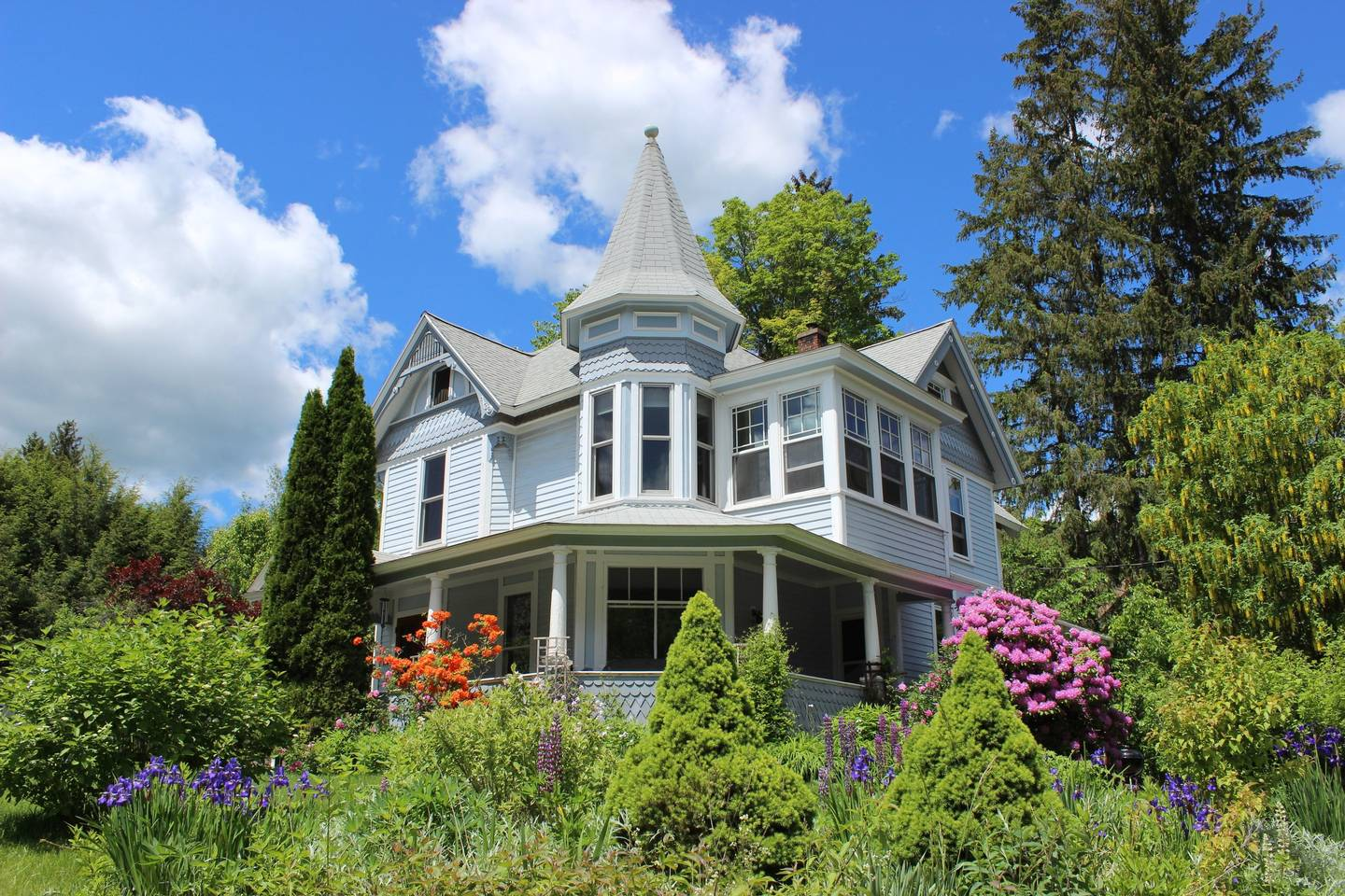 One of our bed and breakfasts in Margaretville, NY.
