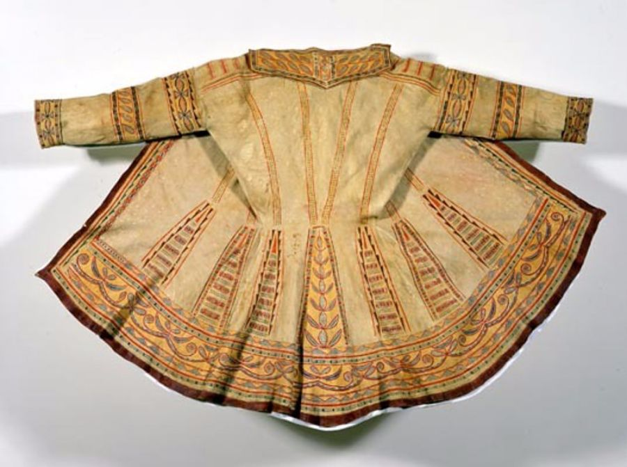 My favorite artifact in the museum, this coat was made of caribou skin by a Innu (Naskapi) woman in Labrador around 1785.