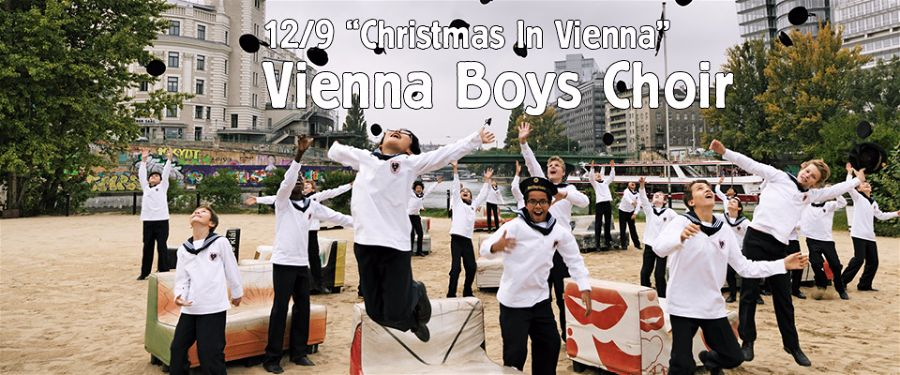The Vienna Boys Choir is coming to town. Photo Tarrytown Music Hall.