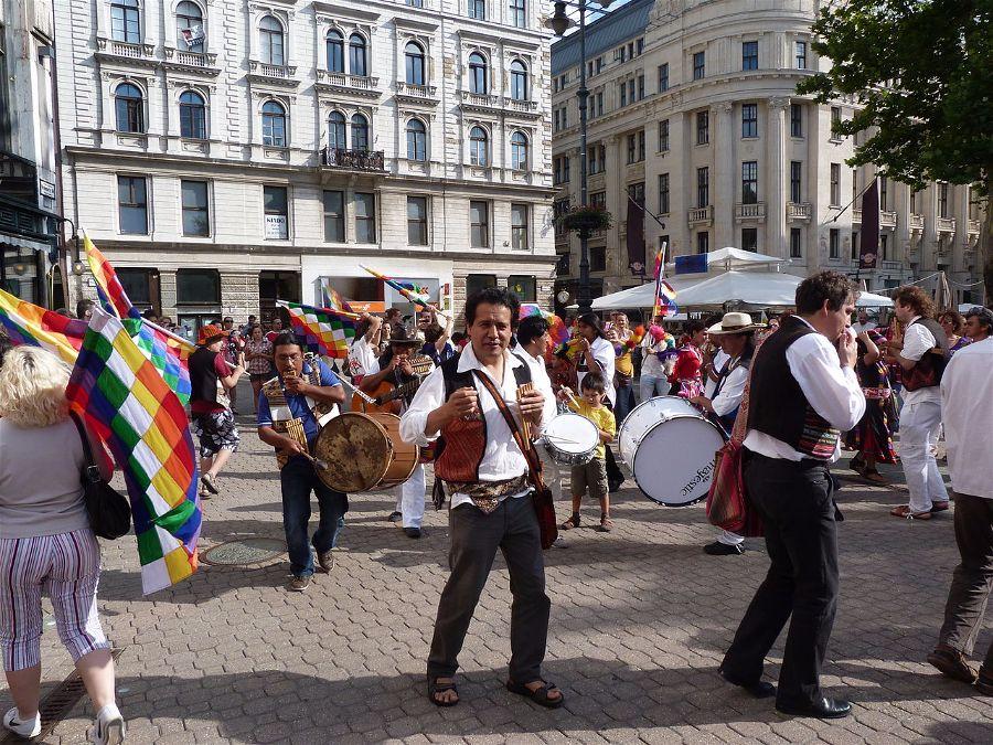Celebration of the Winter Solstice, June 21, Budapest, Peru. Photo:Derzsi Elekes Andor.