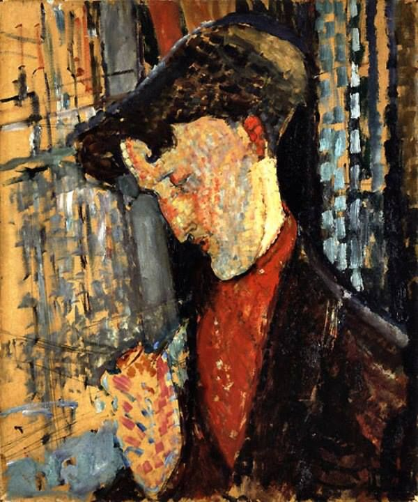 Portrait of the Painter Frank Haviland,  Amedeo Modigliani, 1914.