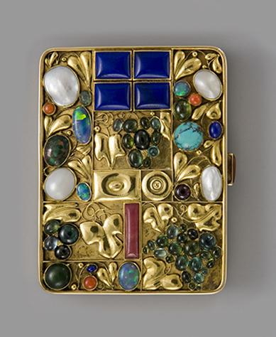 Tobacco Case for Otto Primavesi  by Josef Hoffmann, Private Collection.