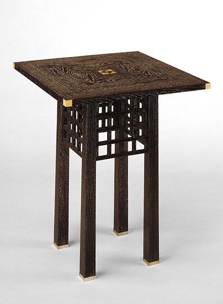 Table  by Josef Hoffmann, 1904, Minneapolis Institute of Art.