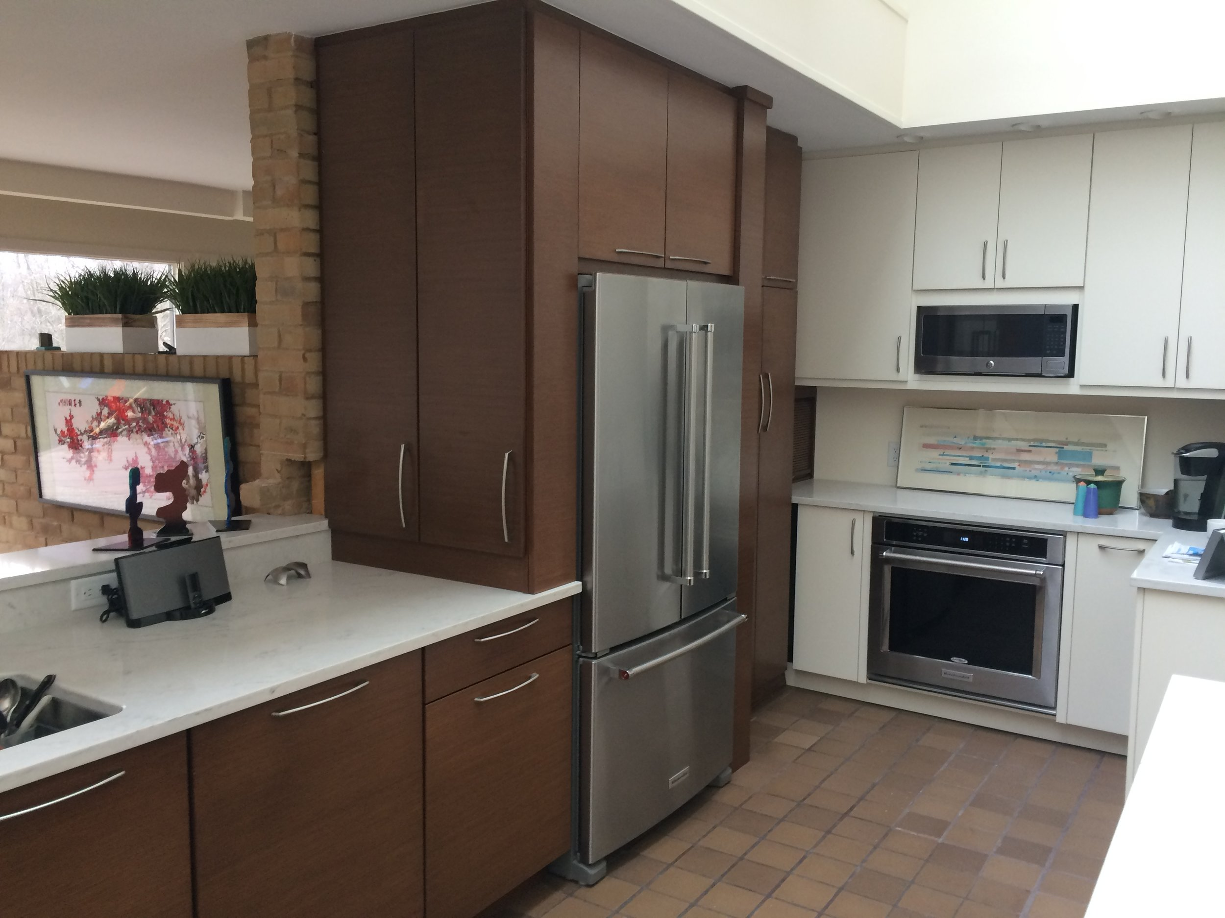 Custom kitchen renovation project