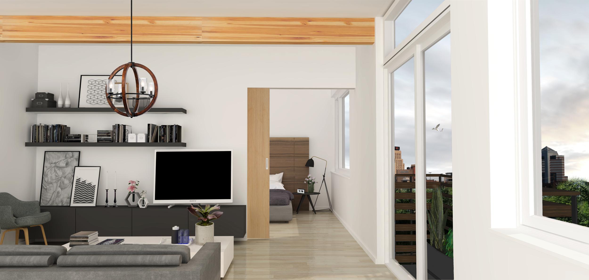 Mangum Flats Condo Interior 3