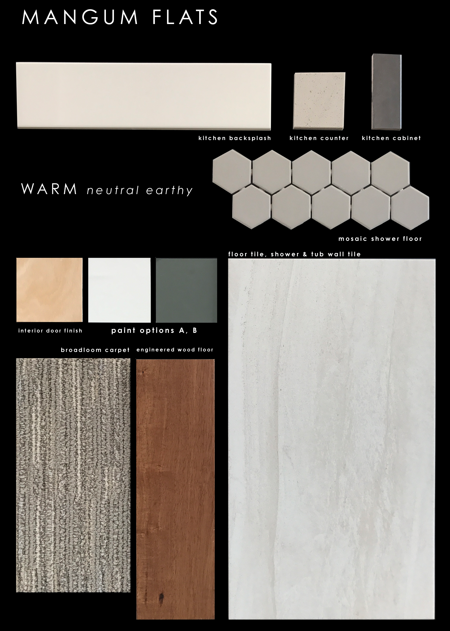 Finish Package: Warm neutral earthy