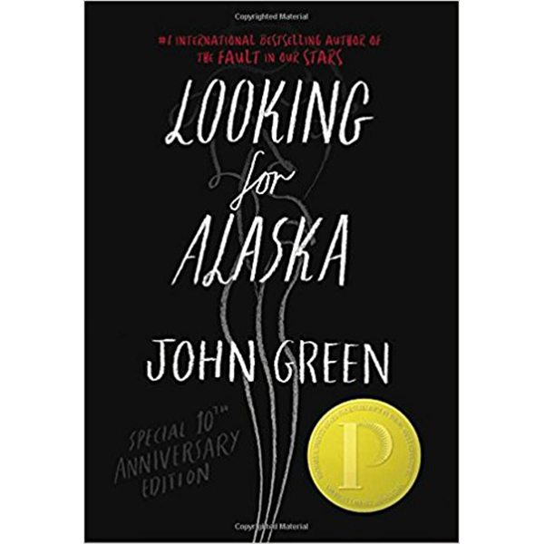 "Looking for Alaska is John Green's first book and it is brilliant. Miles is obsessed with famous last words, and finding ""the Great Perhaps"" (Francois Rabelais). He goes to boarding school and meets Alaska, who launches him into the Great Perhaps, and then nothing is ever the same."