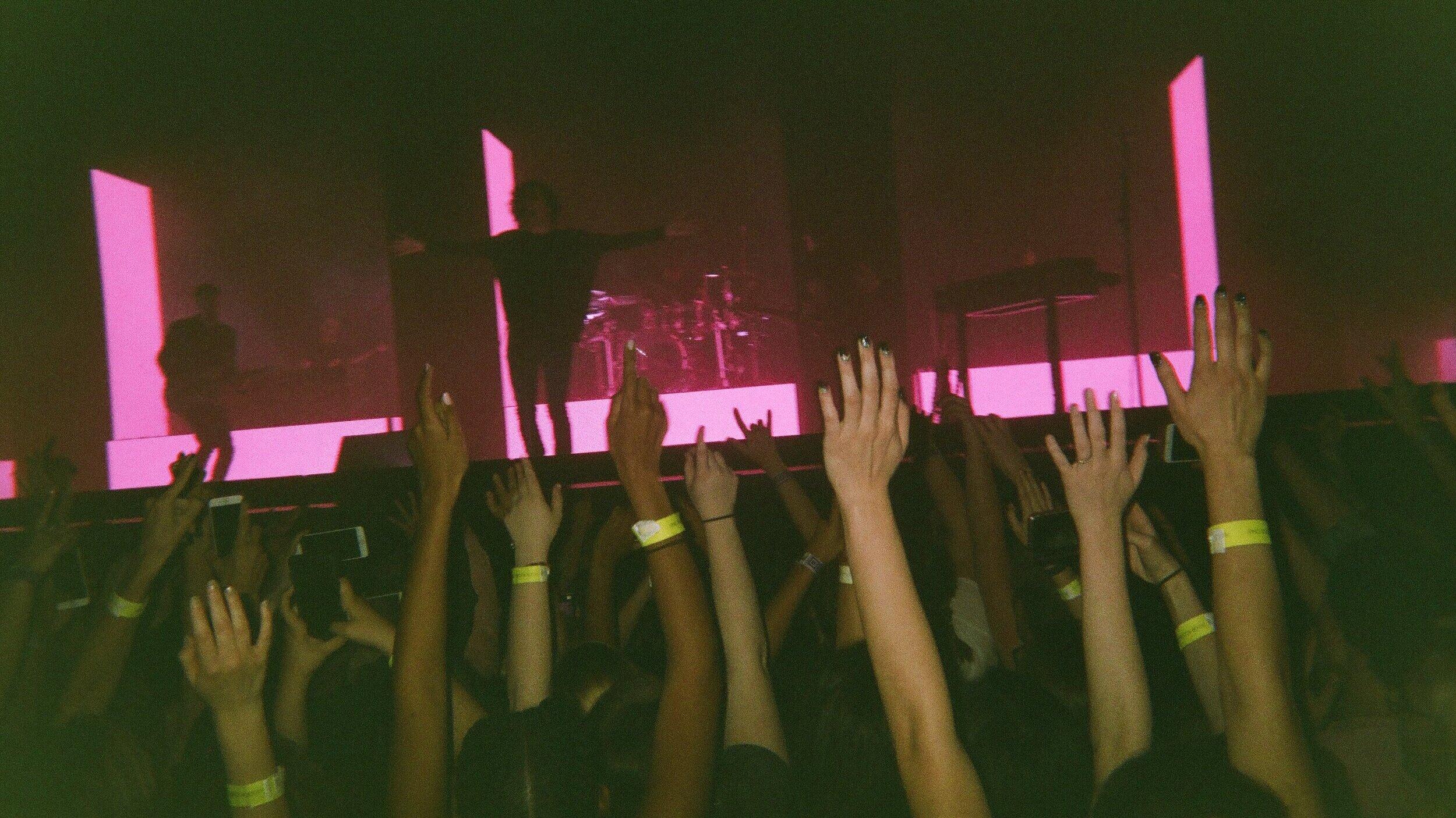 *not my first concert :)