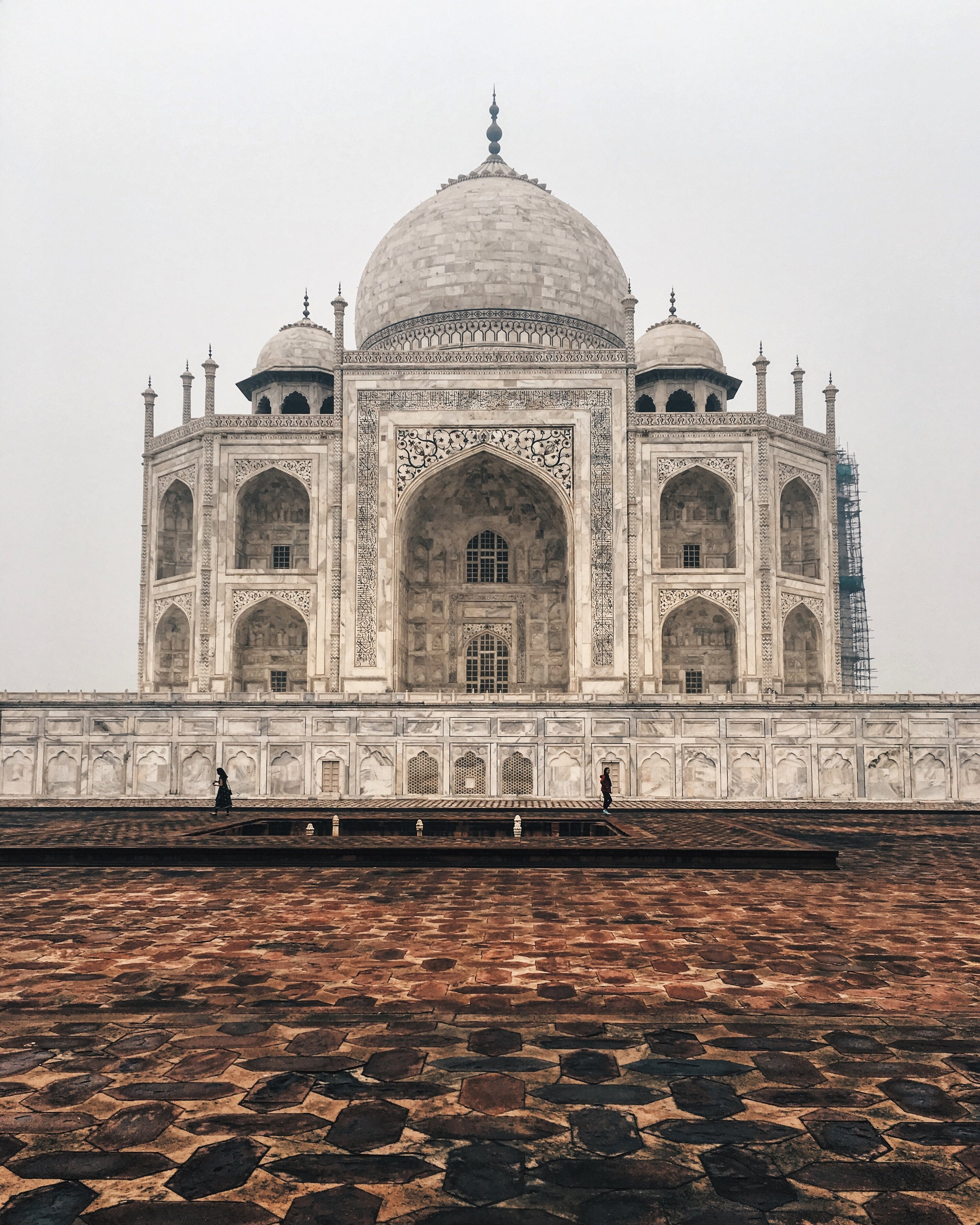Another shot of the Taj from early morning.  Shot on an iPhone.