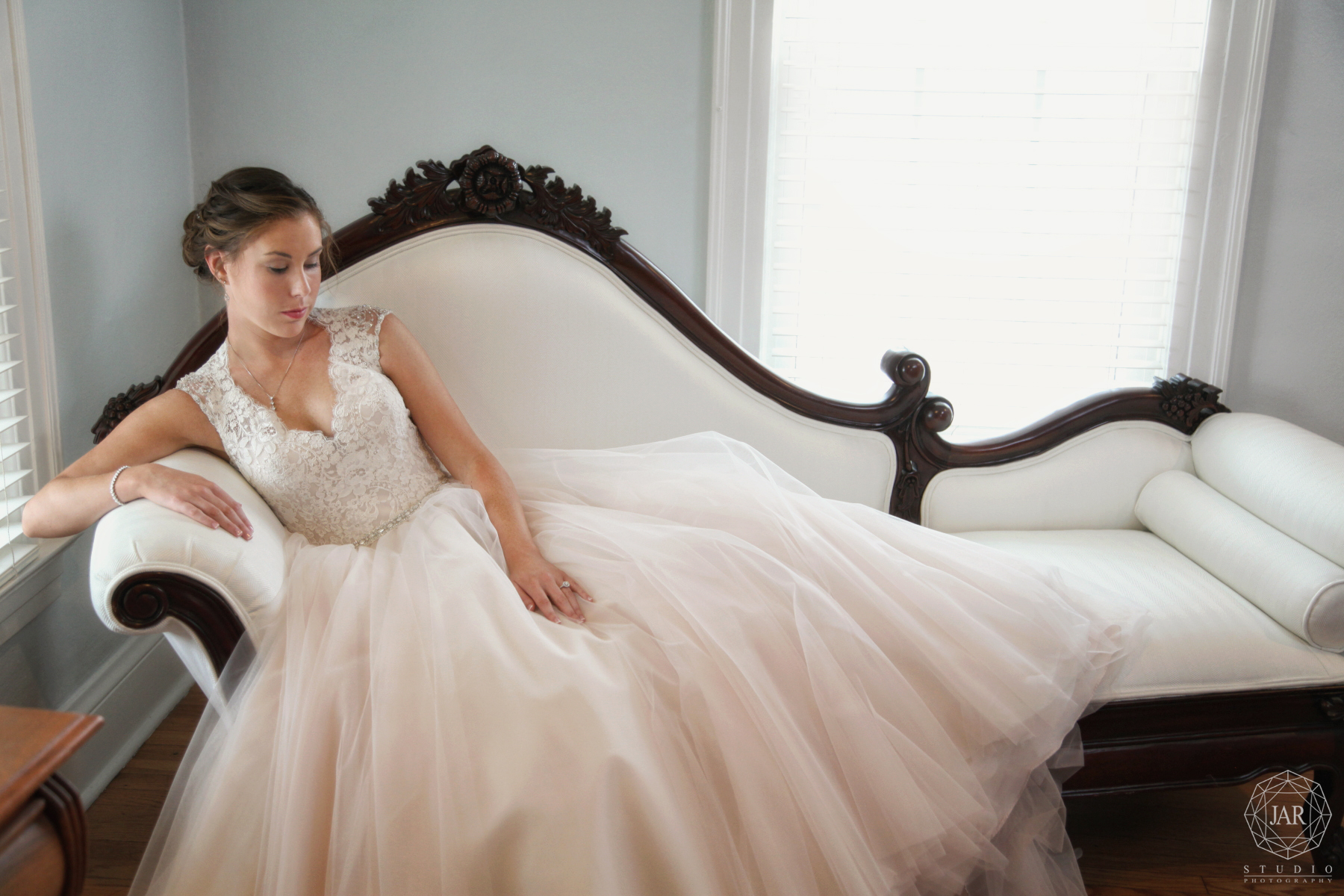Fine art disney wedding photographer gorgeous dress