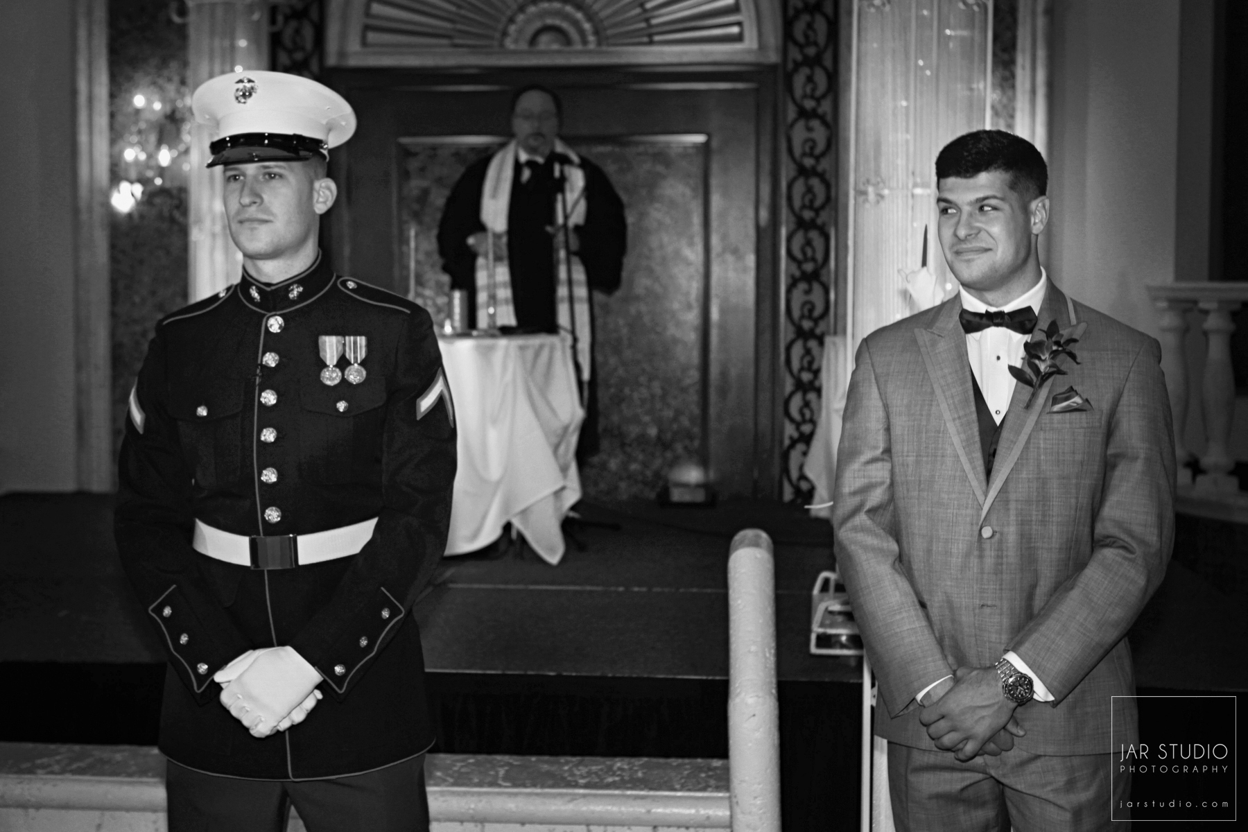 11-marine-groom-waiting-for-bride-moment-fl-jewish-wedding-photographer.JPG
