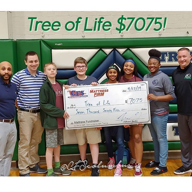 Tree of Life earned $7075 in 1 day!!! That is the power the #mattressfundraiser  @tolcs  #cfscolumbus #cfs #fundraiser #mattress #money #treeoflife #Columbus #sleep #fundraiser #614