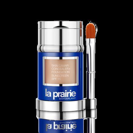 La Prairie 's  Skin Caviar Concealer & Foundation, SPF 15  ($215)