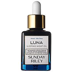 Sunday Riley 's Luna Sleeping Night Oil -  available on Sephora    ($105)