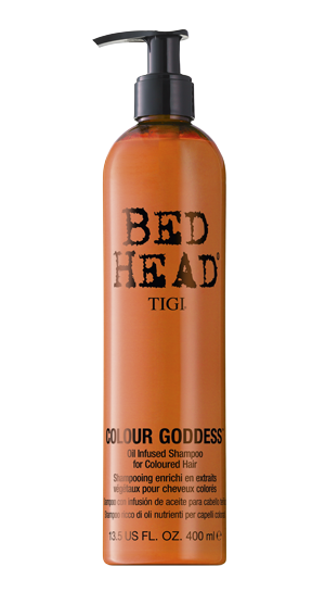 Bed Head 's  Colour Goddess Oil Infused Shampoo   (Price varies by retail distributor)