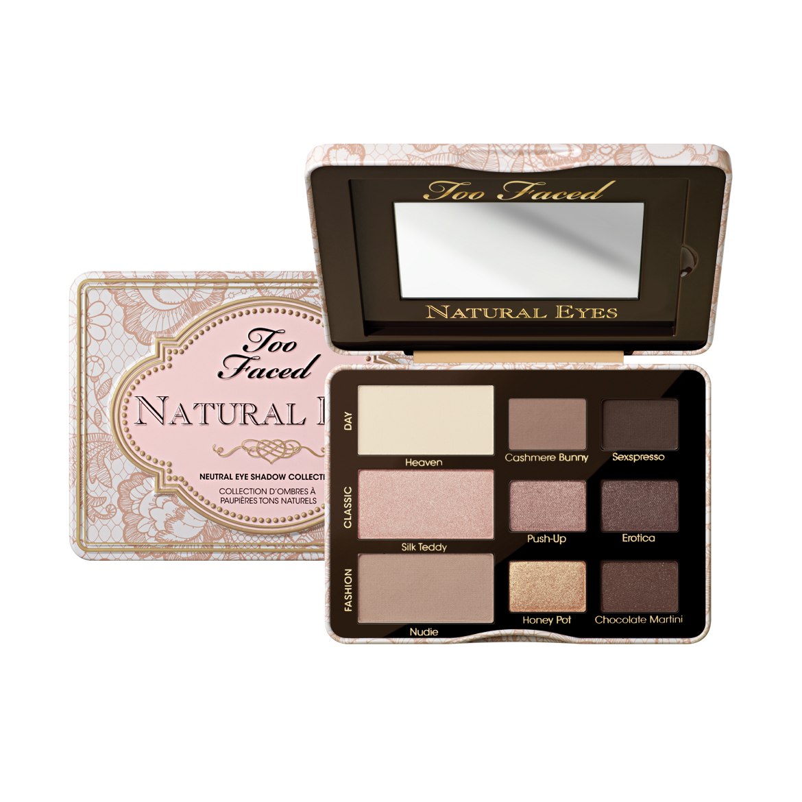 Too Faced 's  Natural Eyes   ($36)