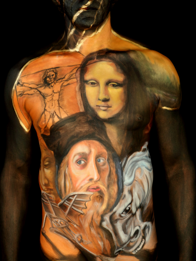 Tribute To Leonardo da Vinci  [p/c: Cully Firmin Photography & Production ]