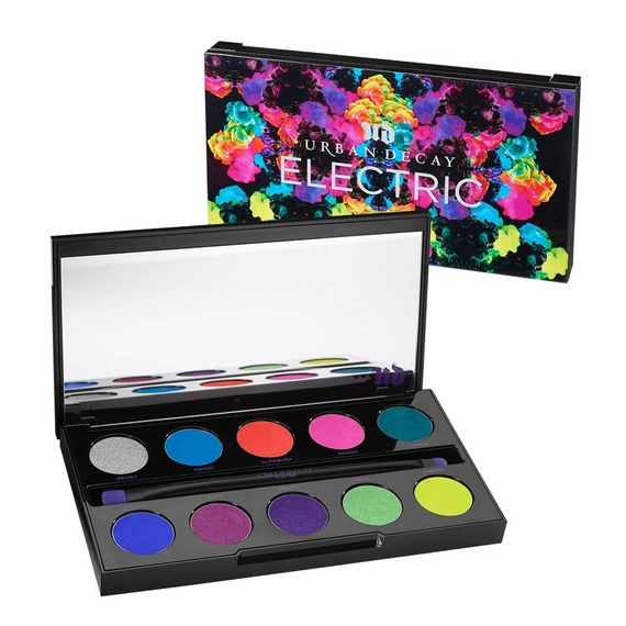 Urban Decay 's  ELECTRIC Pressed Pigment Palette  ($49)
