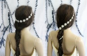 Hair Floaters ' Bridal Headband  ($85.50)