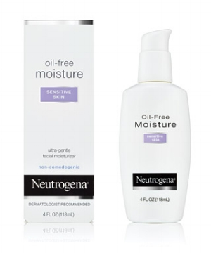 Neutrogena 's  Oil-Free Lotion for Sensitive   ($10.99)
