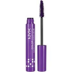 NYX Cosmetics  Colored Mascara in Purple  ($7)